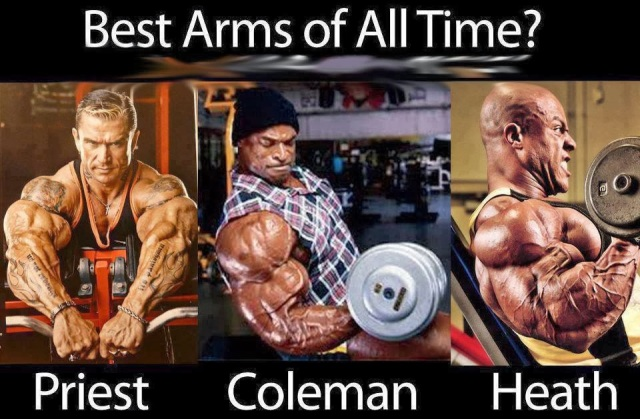 best arms of all time